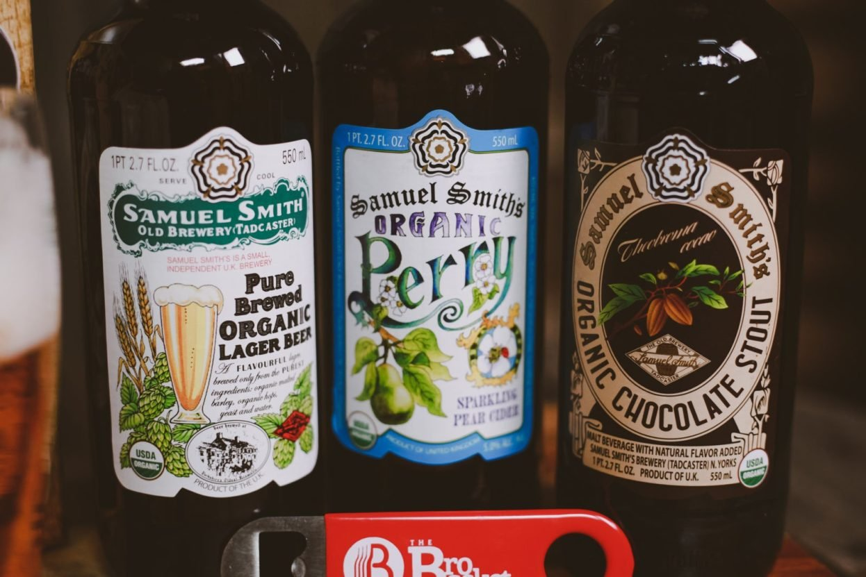 The BroBasket - Gifts for men - english beer gifts - samuel smith beer gifts