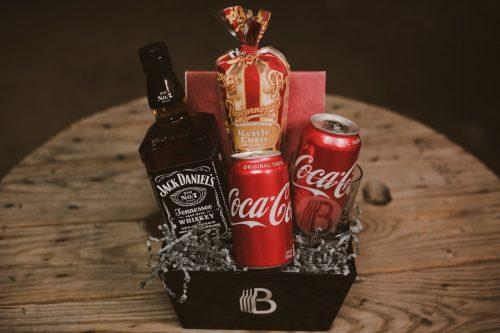 The BroBasket - Gift Baskets for men - whiskey gifts - jack daniels gift basket