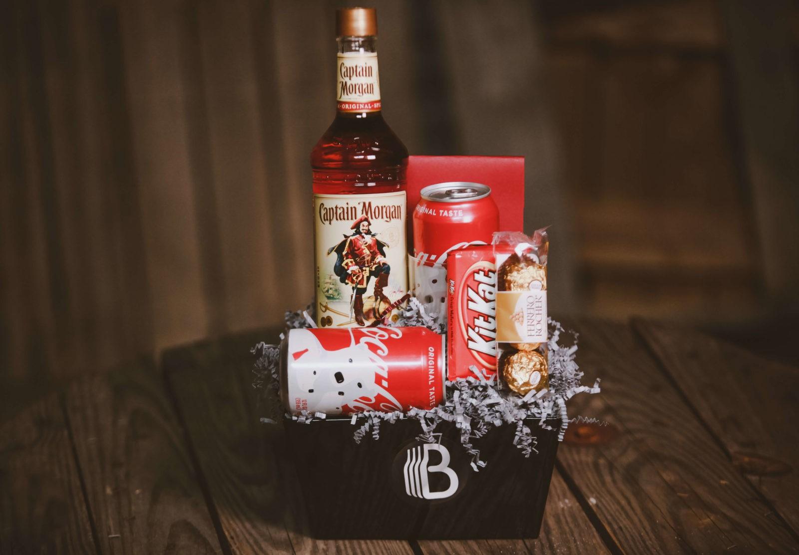 Rum and Coke   Personalized Rum Bottle   Custom Captain Morgan