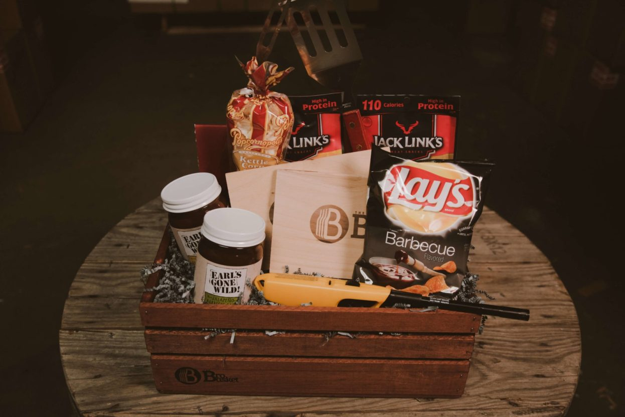 Barbecue Party Gift Basket