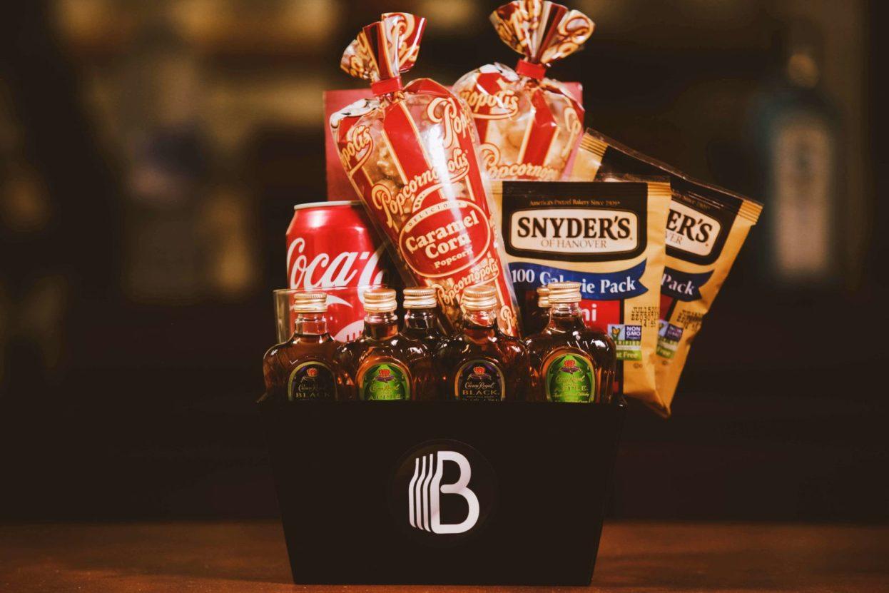The BroBasket - Gift Baskets For Men - Crown Royal Gift - Canadian Whiskey Gifts - Whiskey Gifts - Whiskey Gift Baskets