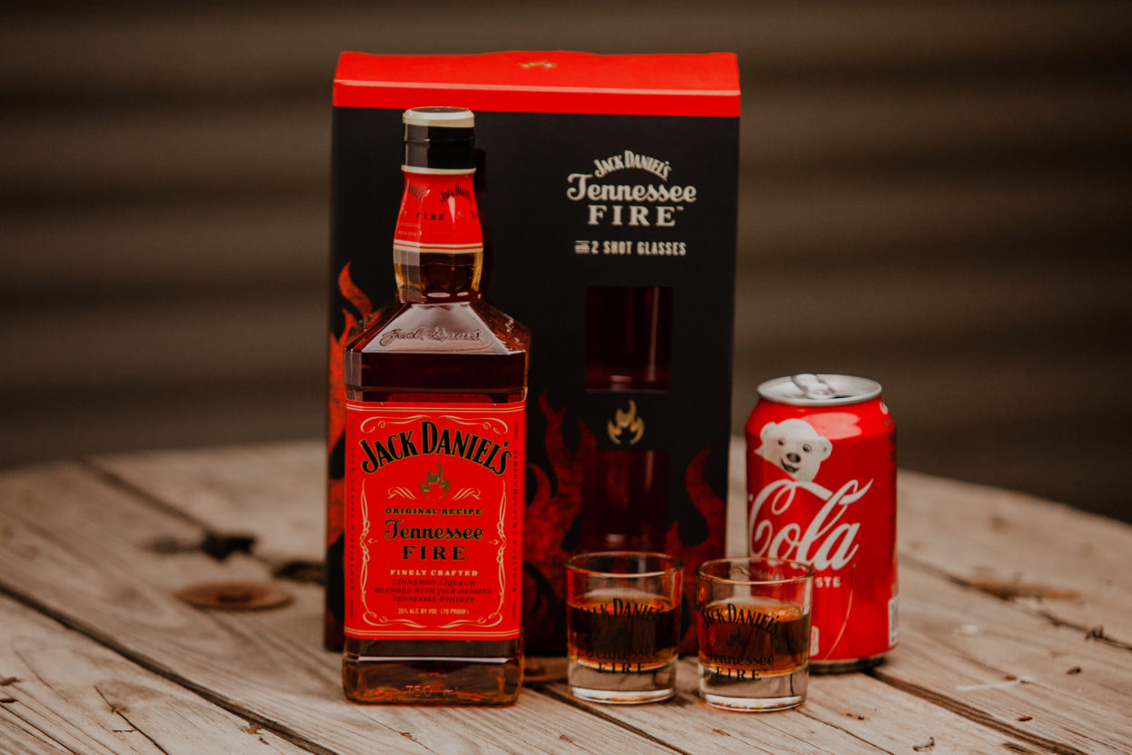 Tennessee Fire Gift Set