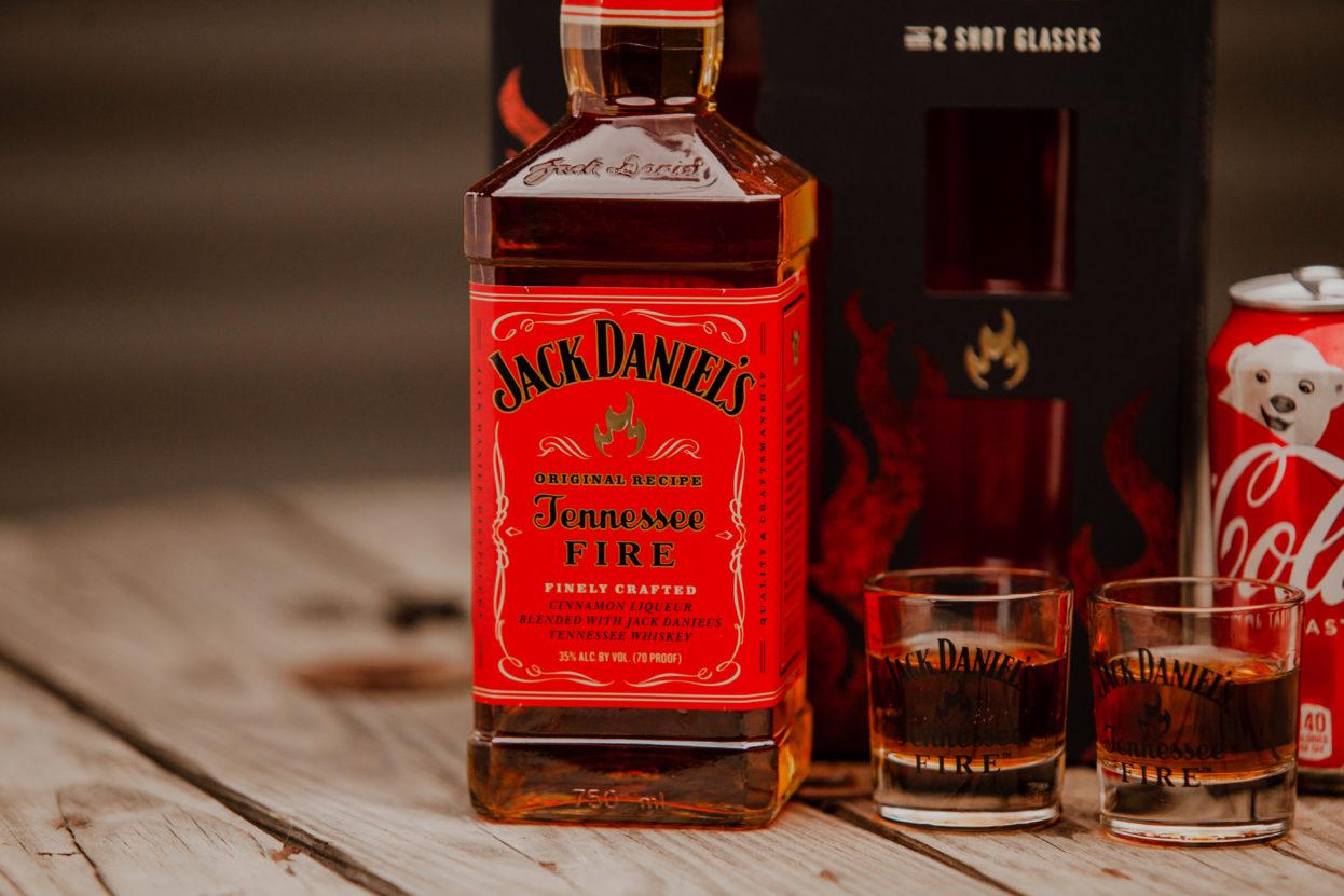 Jack Daniels Tennessee Fire Gift Set