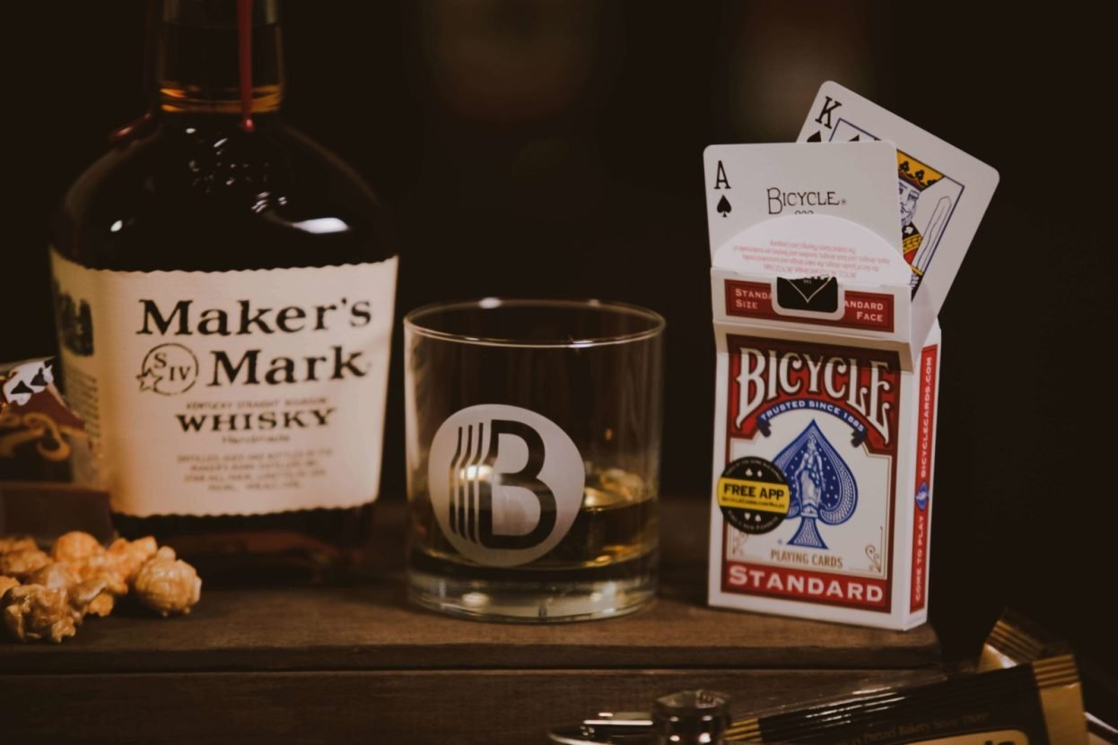 The BroBasket - Gifts For Men - Gift Baskets for Men - Makers Mark Gifts - Kentucky Bourbon Gifts - Bourbon Gifts