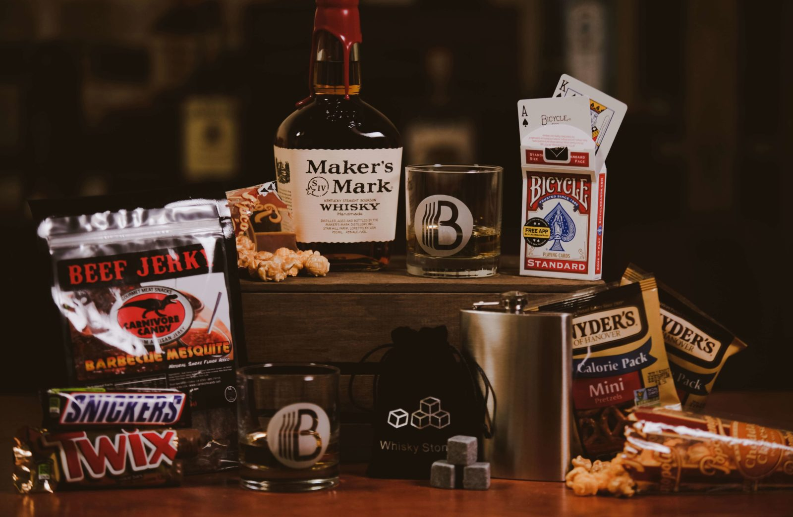 Custom Makers Mark Bottle