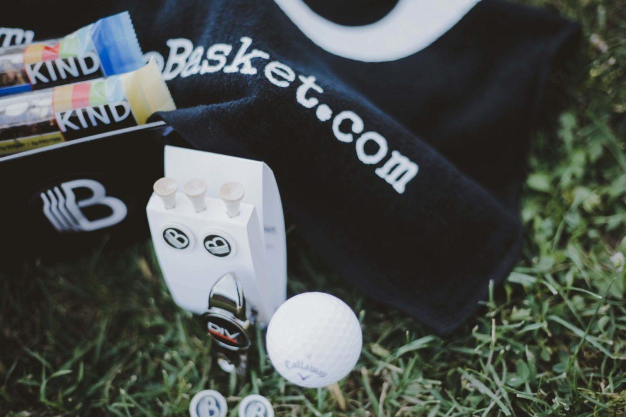 The BroBasket - Gift Baskets for Men - Gifts for men - Johnnie Walker Black Label Gifts - Scotch Gifts - Golf Gifts
