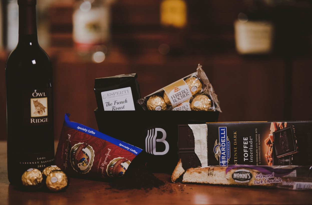 The BroBasket - Amazing Gifts for Men - Wine Gifts - Corporate Gifts - Wine and Chocolate Gifts - Coffee Gifts