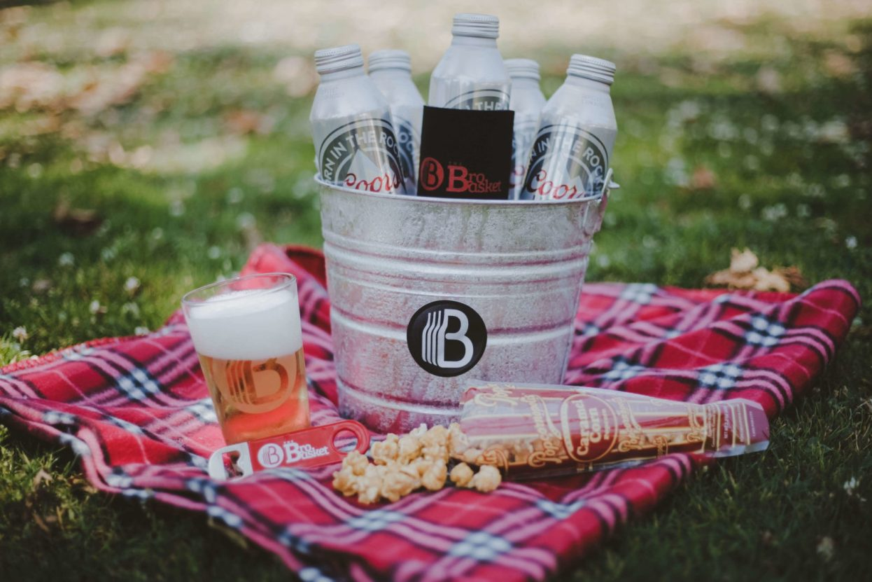 The BroBasket - Amazing Gifts for Men - Beer Gifts - Coorslight Gifts