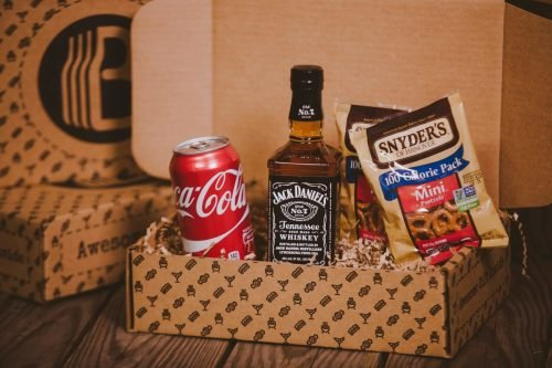 The BroBasket - Gift Baskets For Men - Jack Daniels Gift - Tennessee Whiskey Gifts - Whiskey Gifts - Whiskey Gift Baskets