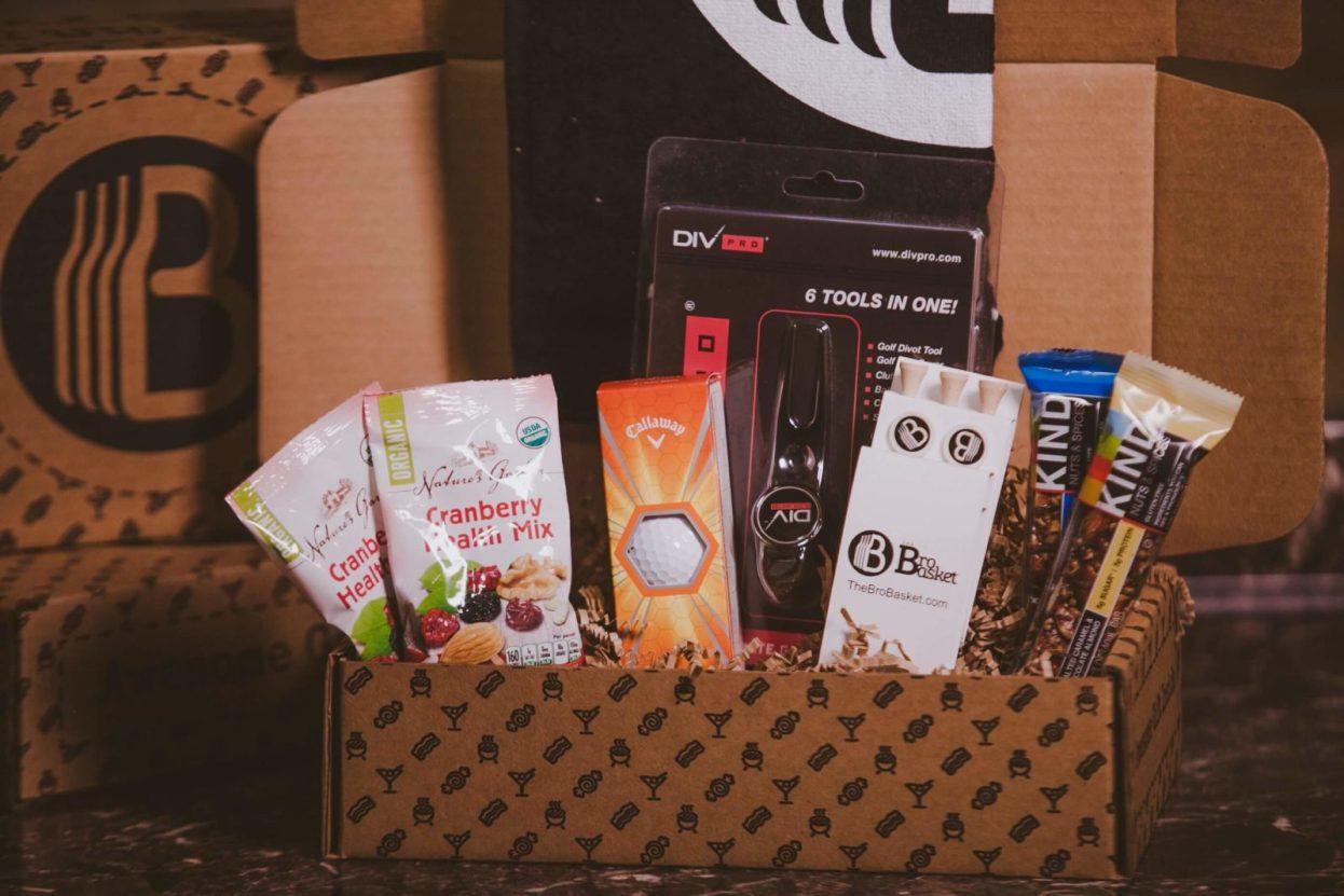 The BroBasket - Gift Baskets for Men - Gifts for men - Golf Gifts