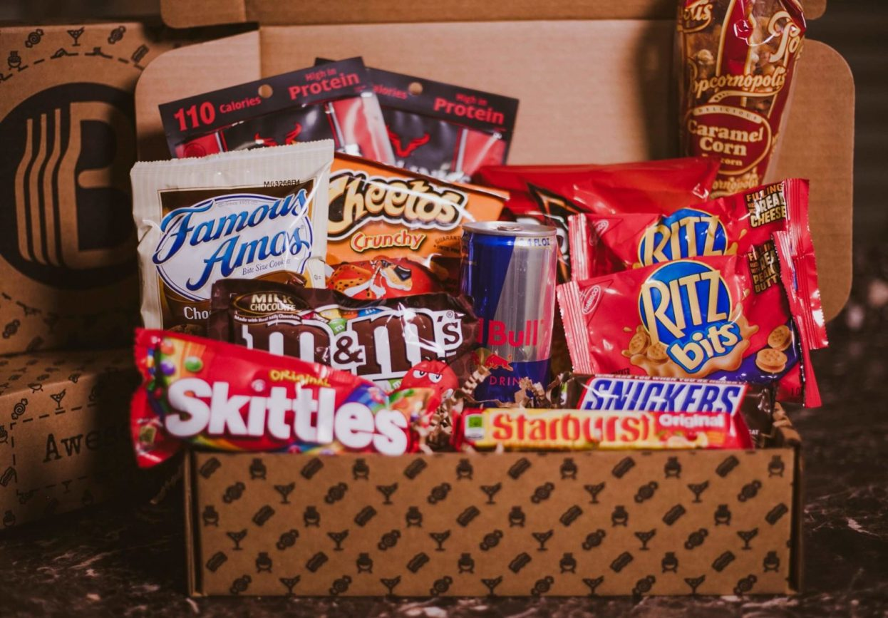 The BroBasket - Amazing Gifts for Men - junk food gifts