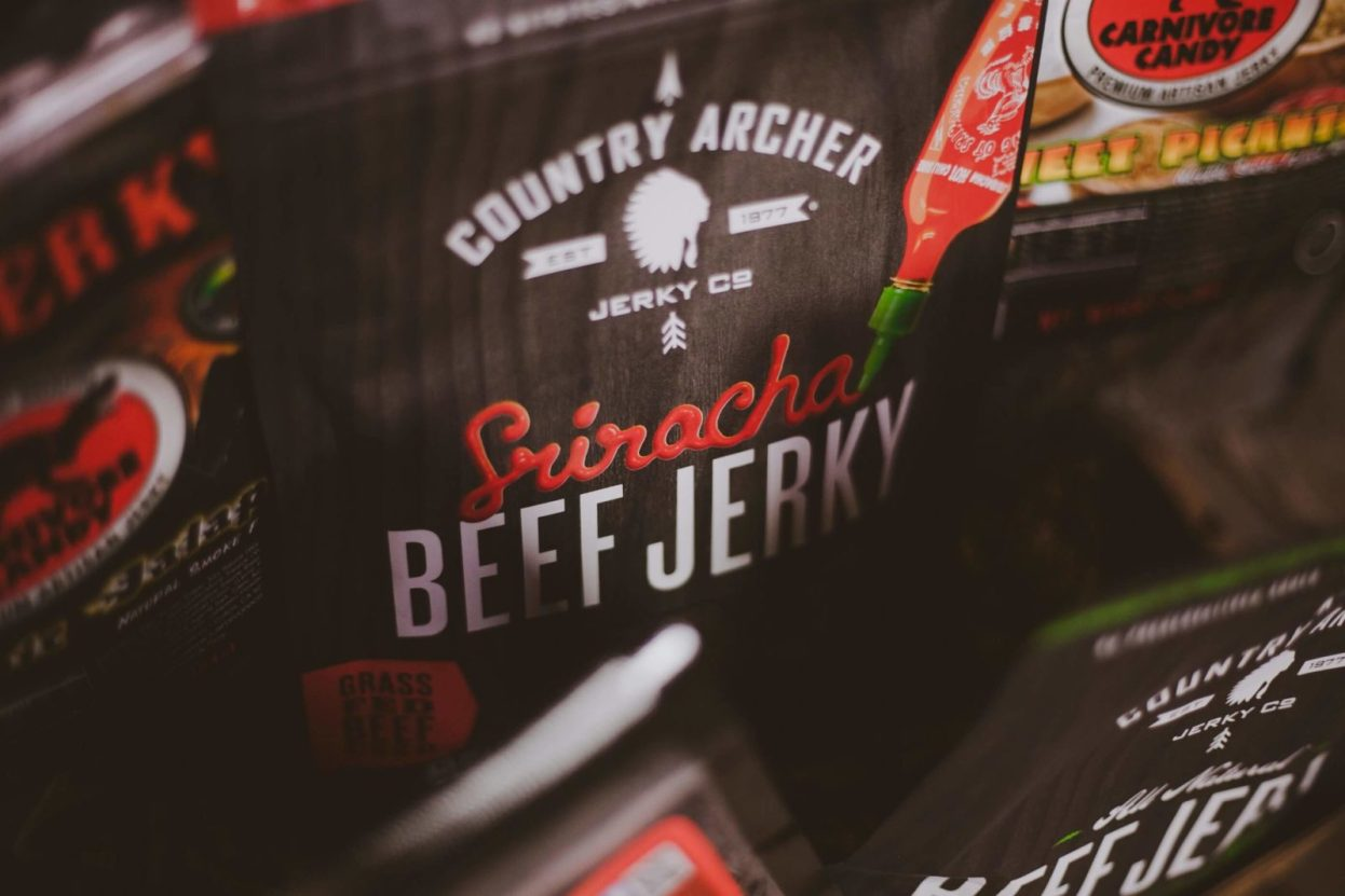 The BroBasket - Amazing Gifts for Men - Gifts for Men - Beef Jerky Gifts
