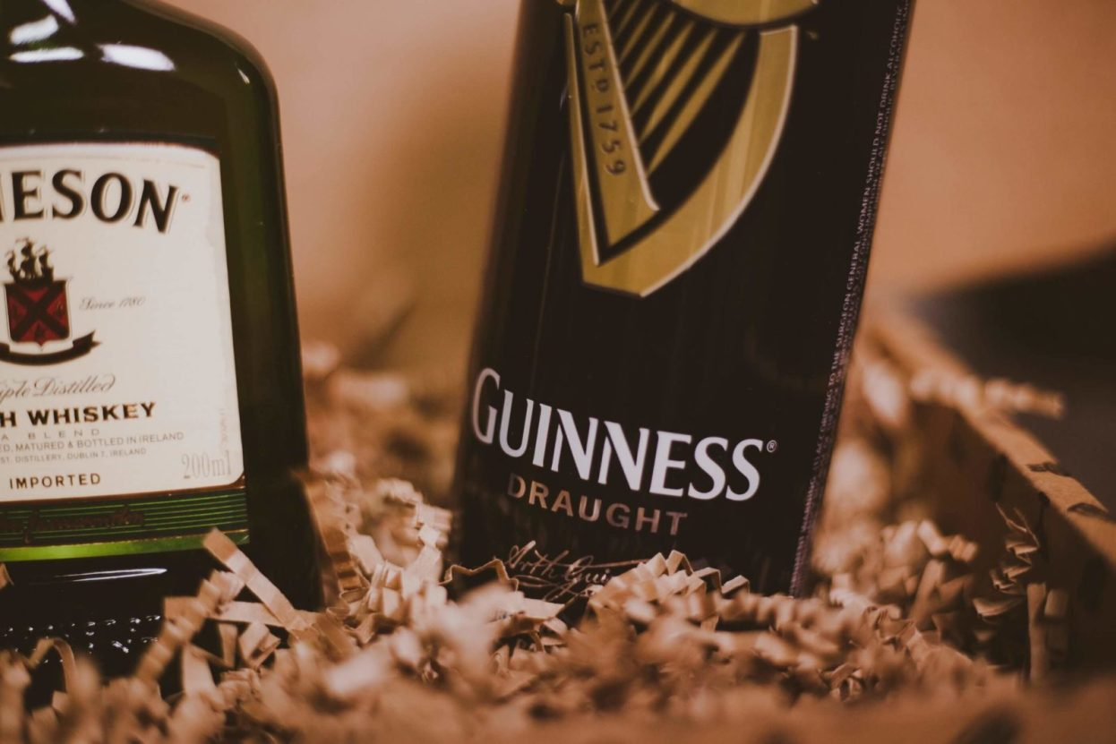 The BroBasket - Gifts for Men - Amazing Gifts for Men - Guinness Gifts - Jameson Gifts - Baileys Gifts