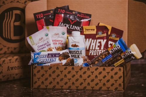 The BroBasket - Gifts for Men - Amazing Gifts for Men - Healthy Gifts - Protein Gifts