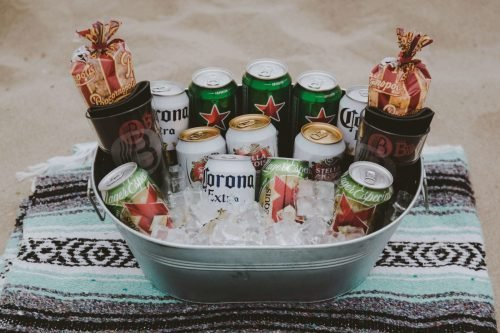 The BroBasket - Gifts for Men - Beer Gifts - Mexican Beer - Lager Beer - Corona Gifts - Heineken Gifts - Stella Artois Gifts - Dos Equis Gifts
