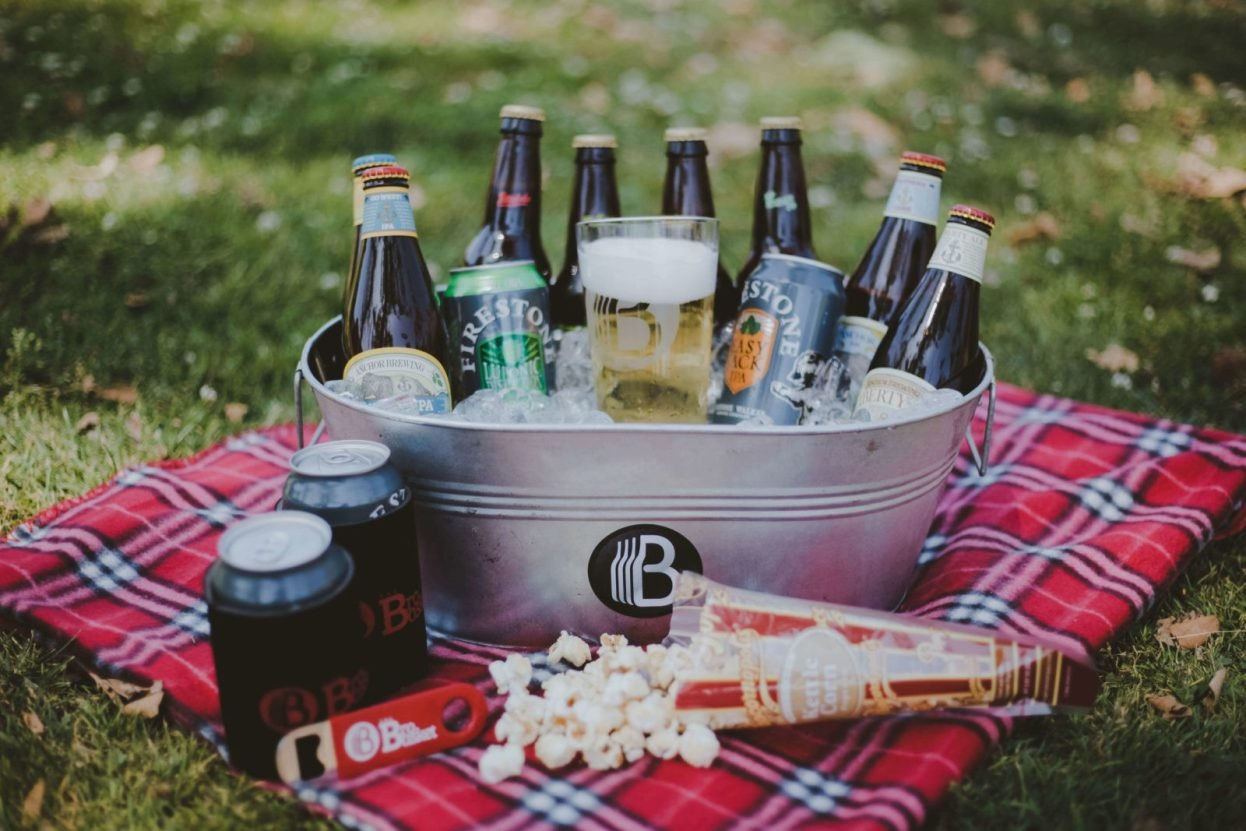 The BroBasket - Amazing Gifts for Men - Craft Beer Gifts - Beer Gifts - FireStone Gifts - Stone Brewery Gifts