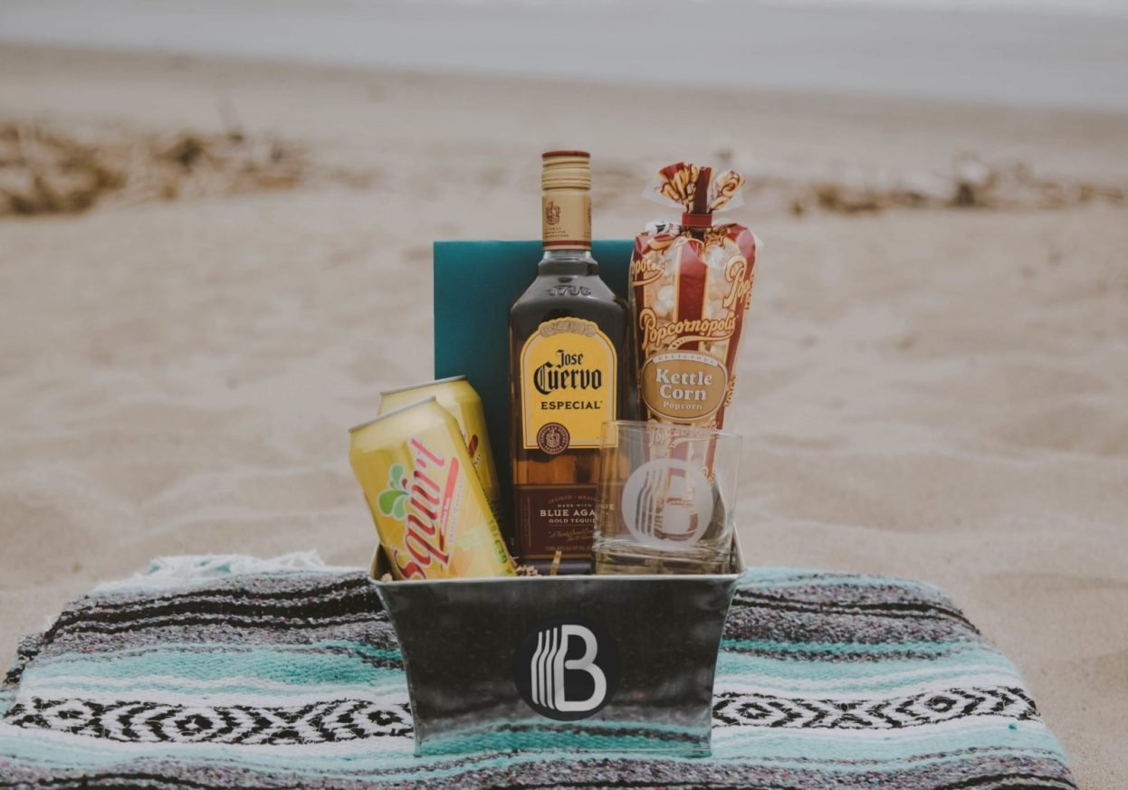 The BroBasket - Amazing Gifts For Men - Gifts for Men - Jose Cuervo Gifts - Tequila Gifts - Paloma Gifts