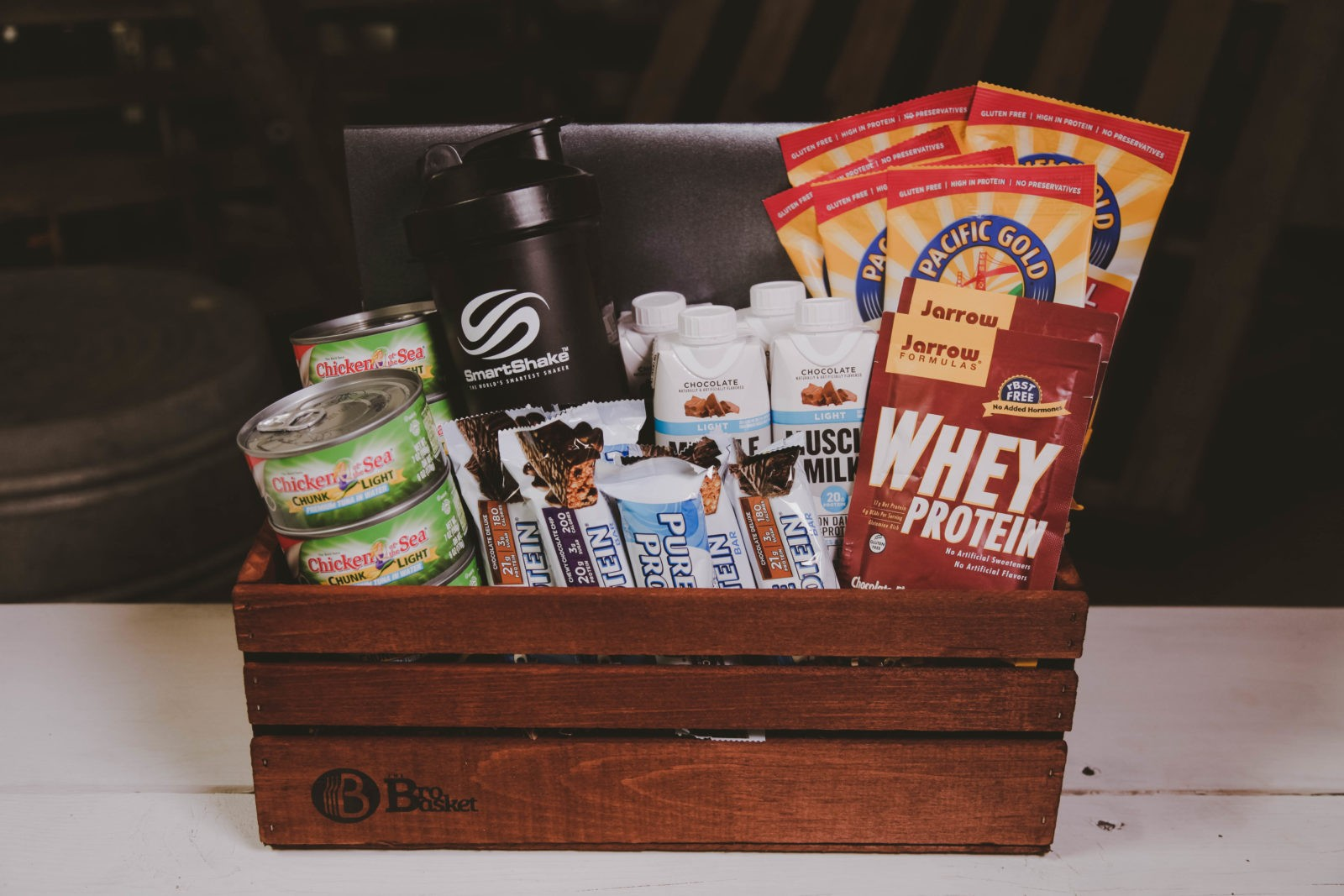 The Health Nut | Protein Gift Basket