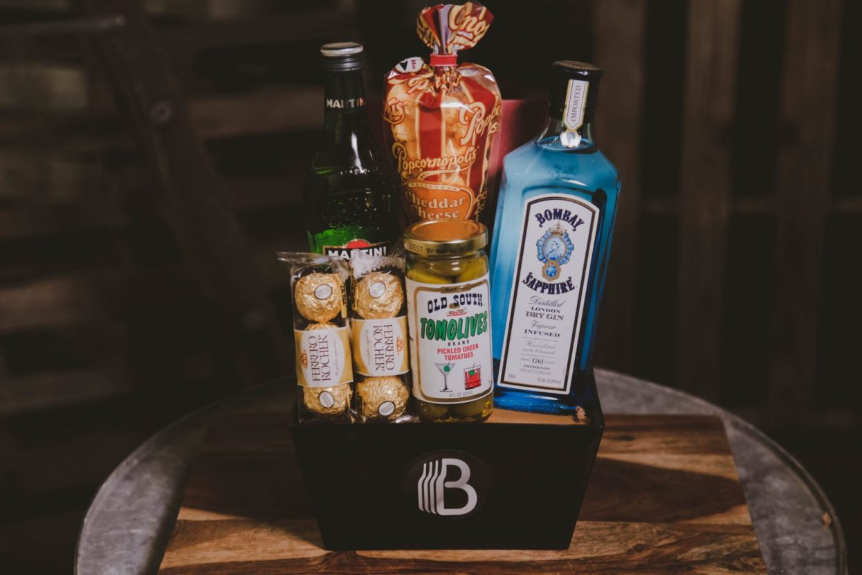 The BroBasket | Gifts For Men | Gin Gifts | Martini Gifts | Bombay Sapphire | Bombay Sapphire Gifts