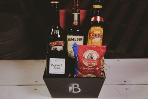 The BroBasket | Gifts for men | Jameson Gifts | Kahlua Gifts | Baileys Gifts | Jameson | Baileys | Kahlua | Caribbean Coffee | Irish Coffee | Irish Coffee Gifts