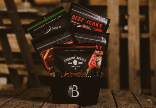 The BroBasket | Amazing gifts for men | Country Archer | Carnivore Candy | Beef Jerky | Beef Jerky Gifts