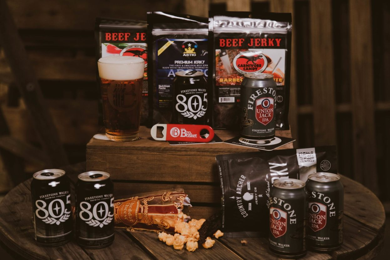 The BroBasket | Gifts for men | Beef Jerky Gifts | Firestone Gifts | craft beer gifts | Carnivore Candy Gifts | Country Archer Gifts | Beef Jerky Gifts