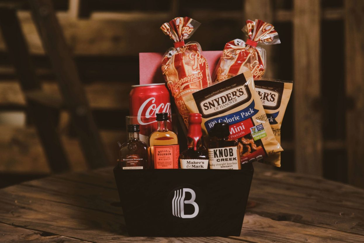 The BroBasket | Amazing Gifts for men | Bourbon gifts | knobb creek gift | Bulleit Bourbon Gifts | Woodford reserve gifts | Makers mark gifts | Bourbon Gifts