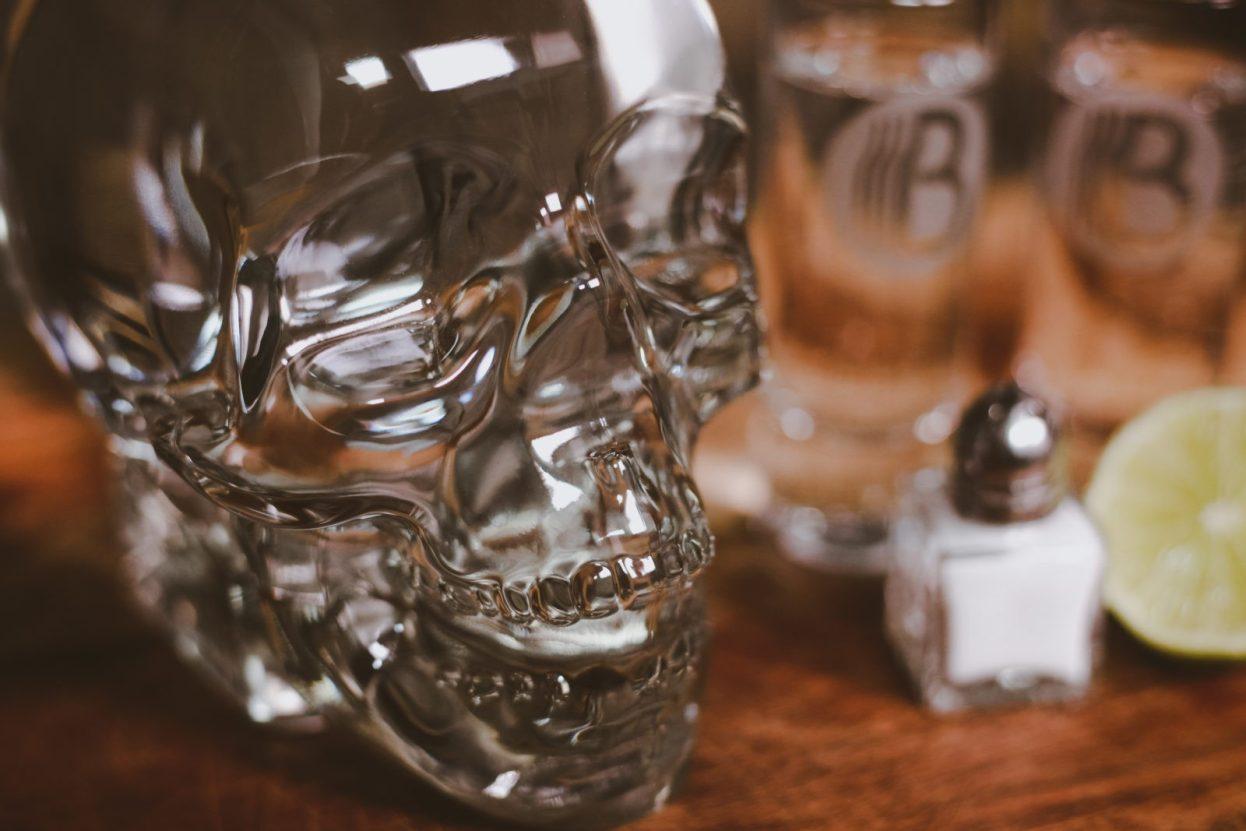 The BroBasket - Gift Baskets for Men - Vodka Gifts - Vodka Gift Sets - Crystal Head Vodka Gifts