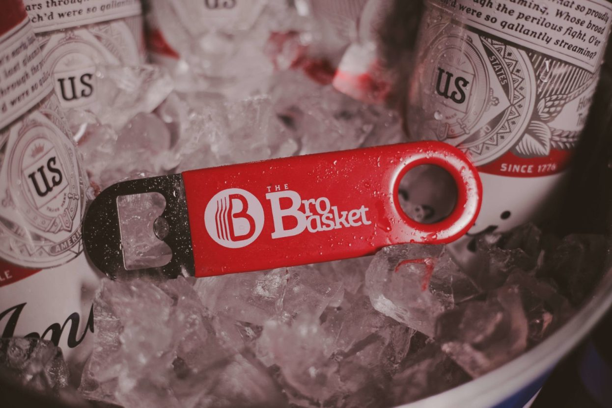 The BroBasket - Gift Baskets For Men - Budweiser Gifts - Beer Gifts