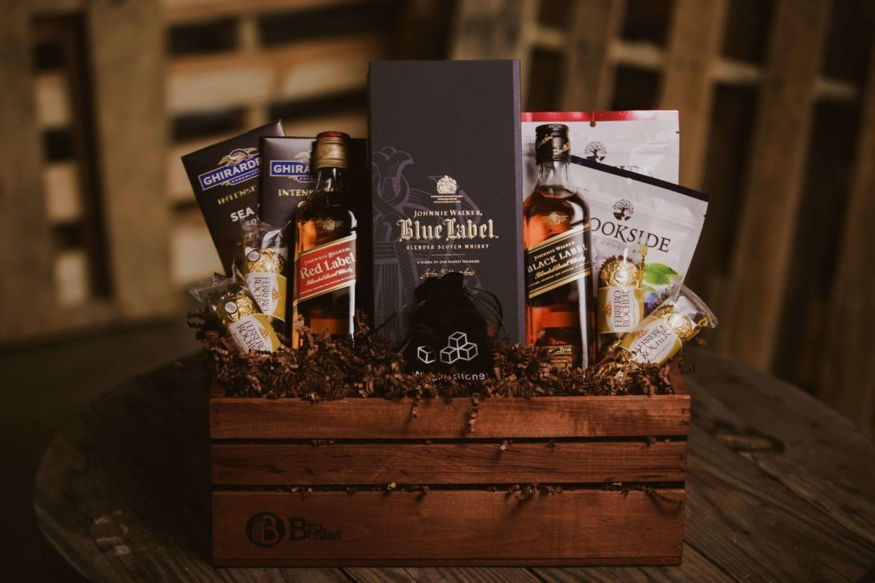 The Chief Executive gift basket