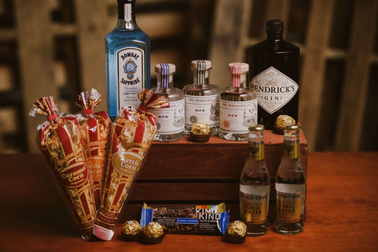 Gin and Tonic Dream gift basket