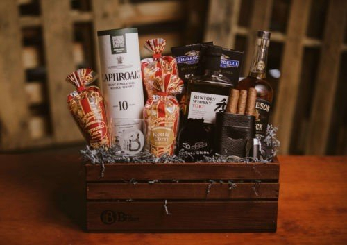A world of Whiskey gift sets