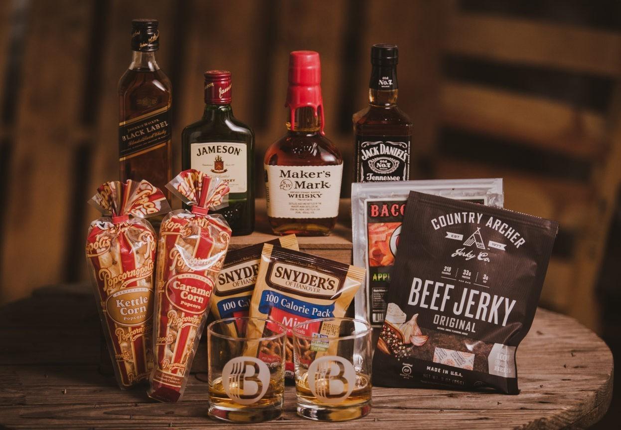 The Whiskey Lover gift set