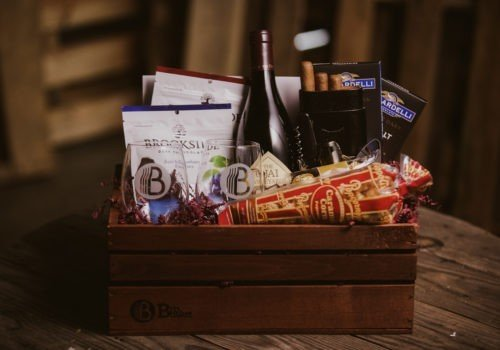 The California Wine Executive gift basket
