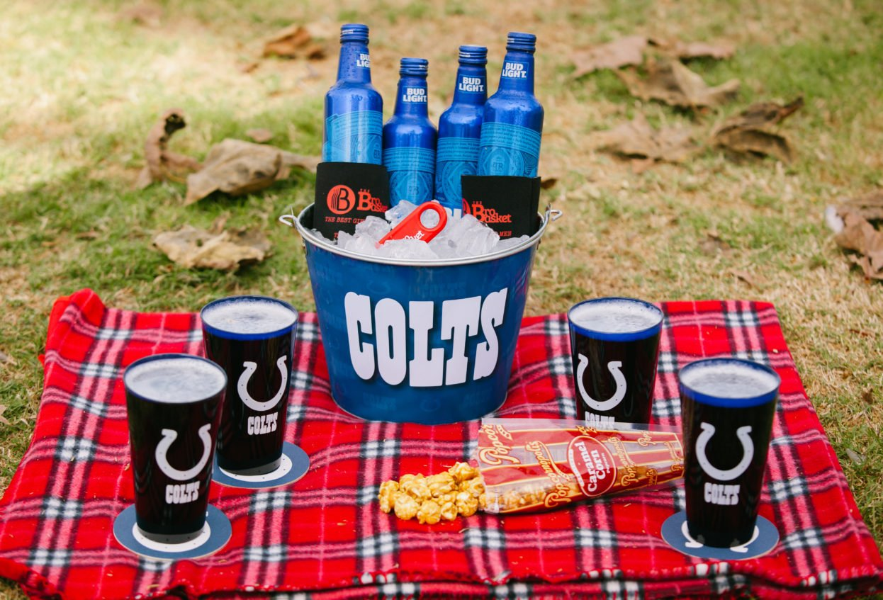 Colts Tailgate Bucket of Beer