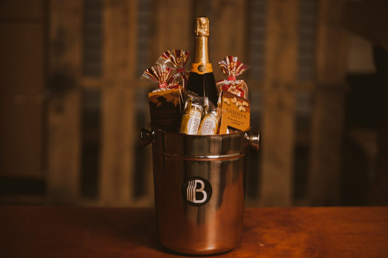 The Champagne Campaign - Champagne Gift Basket
