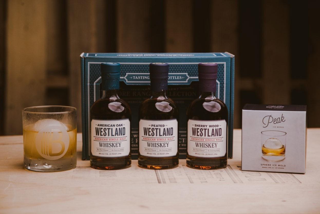 The Westland Single Malt Collection   Single Malt Gift