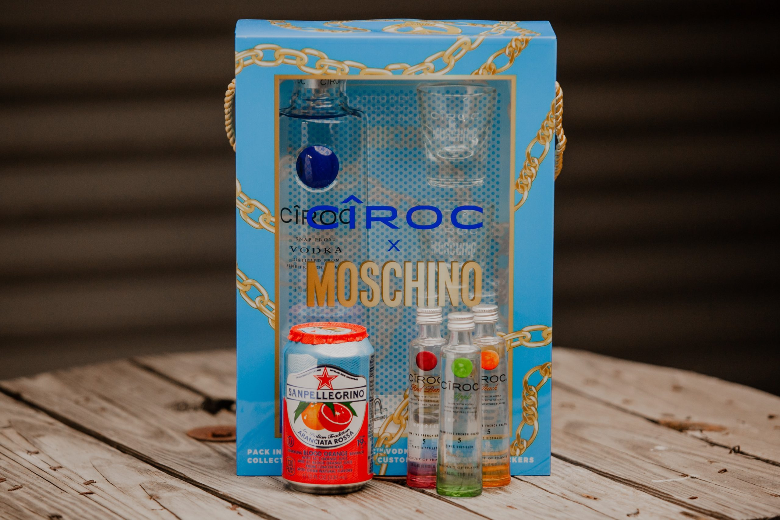 The Ciroc Moschino Gift Set