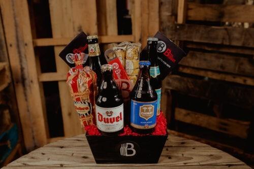 The Belgian Beer Sampler Gift Basket